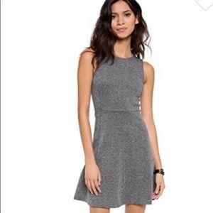 Theory A Line Gray Dress